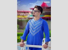 Pathan Traditional Dress In Blue Color Muslim Afghan Men