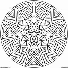 Coloring Geometric Pages Geometric Mandala Coloring Pages Coloring Home
