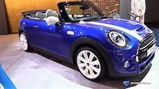 2020 mini cooper s cabrio exterior interior walkaround
