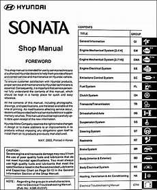 service manuals schematics 1992 hyundai sonata auto manual 2004 hyundai sonata repair shop manual original