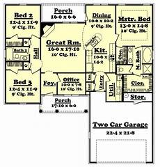 1700 square foot house plans traditional style house plan 3 beds 2 00 baths 1700 sq