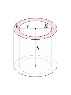 geometry part of 3d annulus cylinder mathematics