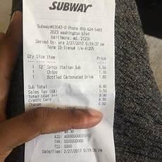 subway sandwiches 2623 washington blvd morrell park