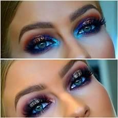 Makeup Looks Blue