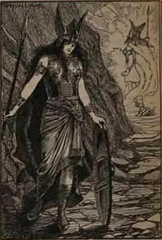 mythologie nordique valkyrie brynhildr also spelled brunhild br 252 nnhilde brynhild is a shieldmaiden and a valkyrie in