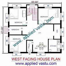 vastu plans for west facing house west facing house plan west facing house vastu plan
