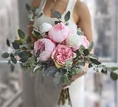 wedding bouquet pink peony bridal bouquet roses bouquet