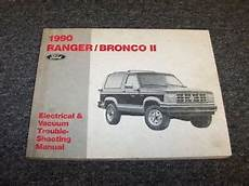 1990 Ford Ranger Bronco Ii 2 Truck Electrical Wiring