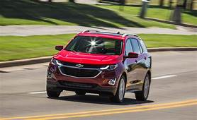 Chevrolet 2020 Chevy Equinox Review & Road Test