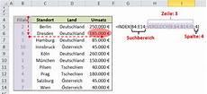 Excel Index Vergleich Funktion Quot Sverweis Quot F 252 R Profis