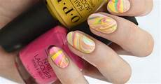 carnival water marble nail art for mardi gras furious filer