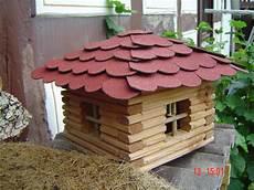 Blockhaus Bauen Anleitung - vogelhaus blockhaus f 252 r v 246 gel bauanleitung zum selber