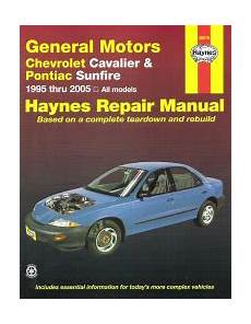 auto repair manual online 1999 pontiac sunfire head up display 1995 2005 gm chevy cavalier pontiac sunfire haynes repair manual