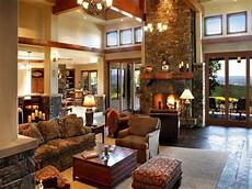 Country Living Room Ideas With Warm And Impression