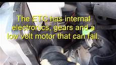 electronic throttle control 2005 ford escape electronic toll collection fix ford f150 low idle stalls at stop throttle body with electronic throttle control youtube