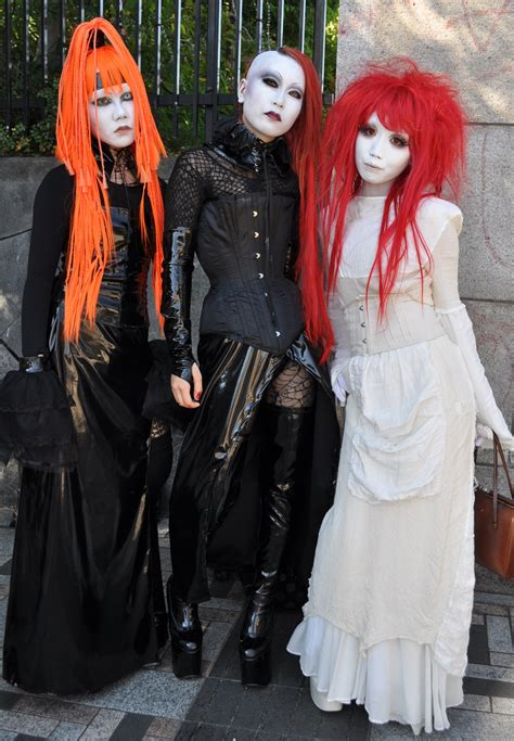 Goth Japanese Girl