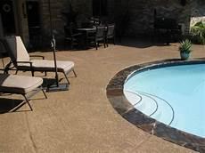 i like this kool deck color painted pool deck backyard pool decks backyard