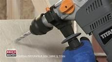 labo brico test marteau perforateur titan sds 1500 w
