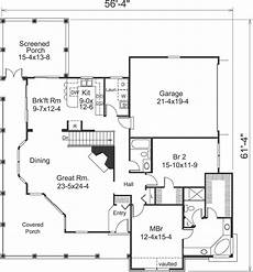 2 bedroom country house plans country house plan 2 bedrooms 2 bath 1646 sq ft plan