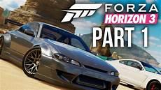 Forza Horizon 3 Gameplay Walkthrough Part 1 Intro