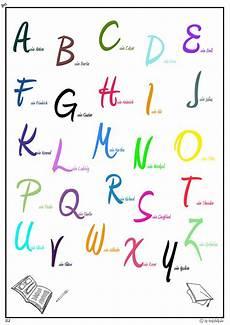 Buchstaben Als Malvorlage Alphabet Zum Ausdrucken Und Ausschneiden Ausmalbilder