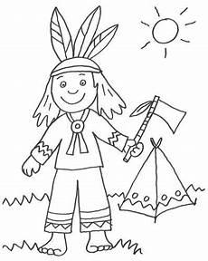 Indianer Ausmalbilder Kostenlos Cowboys Indianer Kostenlose Malvorlage Indianer Und