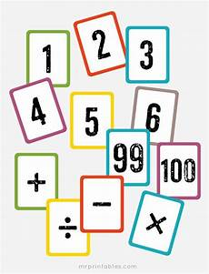 math flash cards for kindergarten 10777 free printable math flash cards numbers 1 to 100 math symbols math flash cards printable