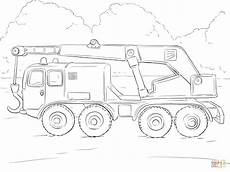Ausmalbilder Polizei Lastwagen Crane Truck Coloring Page Free Printable Coloring Pages