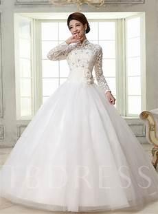 High Neck Gown Wedding Dress