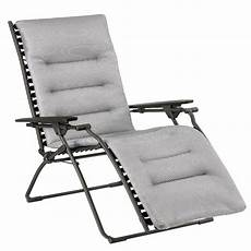 fauteuil relax lafuma evolution be comfort silver hauteur
