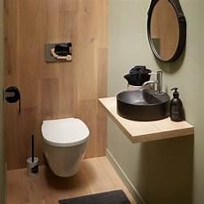 plan de toilette bois les wc et lave mains dans un espace zen leroy merlin