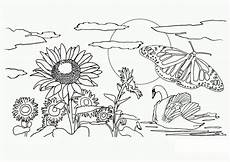 Malvorlagen Tiere Und Natur Free Printable Nature Coloring Pages For Best