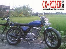 Suzuki Thunder 125 Modif Japstyle by Modifikasi Style Suzuki Thunder 125 Modifikasi Motor