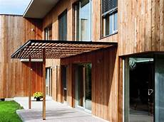tettoie esterne modern contemporary wooden square house architecture by