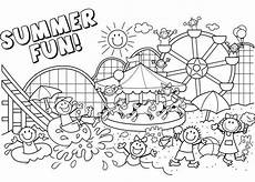 summer fun coloring pages summer coloring pages summer coloring sheets cool coloring pages