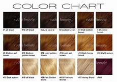 Different Types Hair Colors