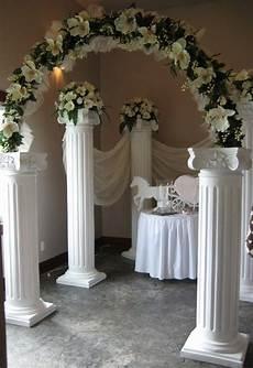 10 best ideas about wedding column decor ideas pinterest hanging lights wedding columns