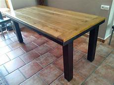 phil de fer tables industrielle