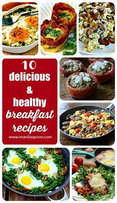 10 delicious healthy breakfast recipes manila spoon