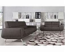 Modern Grey Fabric Sofa Set 44l5947