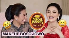 Makeup Tutorial Pakai Bahasa Jawa With Vennya Ngakak