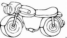 kleines motorrad ausmalbild malvorlage kinder