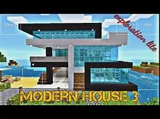 amazing modern house new design in minecraft exploration