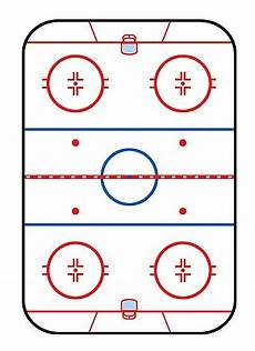 quot ice rink diagram hockey game companion quot photographic print by garaga redbubble
