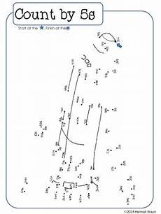 skip counting dot to dots activities worksheets by the classroom key