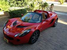 Sell Used 2005 LOTUS ELISE  Red With Tan Interior NO