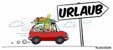 Quot Familie F 228 Hrt Mit Auto In Den Urlaub Quot Stockfotos Und