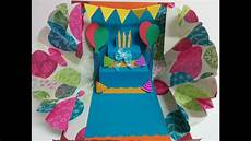 and craft explosion pop up birthday card