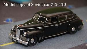 Model Of Soviet Car ZIS 110 Unboxing  YouTube