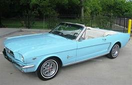 Tropical Blue 65 Mustang Convertible SWEET My Dream Car